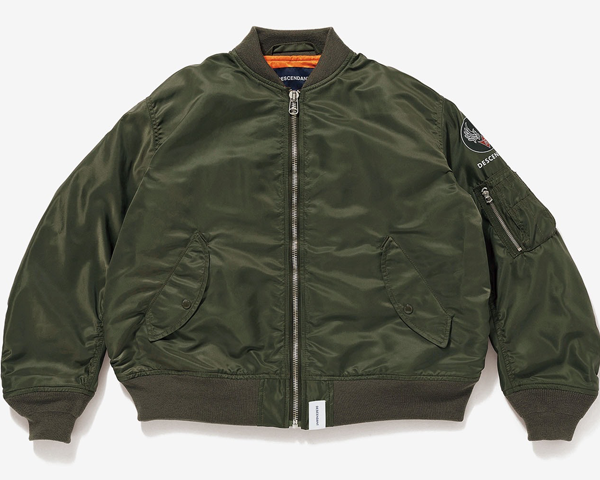 <img class='new_mark_img1' src='//img.shop-pro.jp/img/new/icons1.gif' style='border:none;display:inline;margin:0px;padding:0px;width:auto;' />[DESCENDANT] D-MA1-M NYLON JACKET