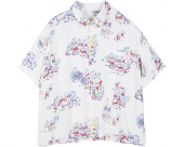 <img class='new_mark_img1' src='//img.shop-pro.jp/img/new/icons1.gif' style='border:none;display:inline;margin:0px;padding:0px;width:auto;' />[PORTER CLASSIC] HAWAIIAN HISTORY ALOHA SHIRT WHITE