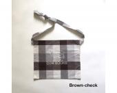 [COW BOOKS] Checkered Sacoche
