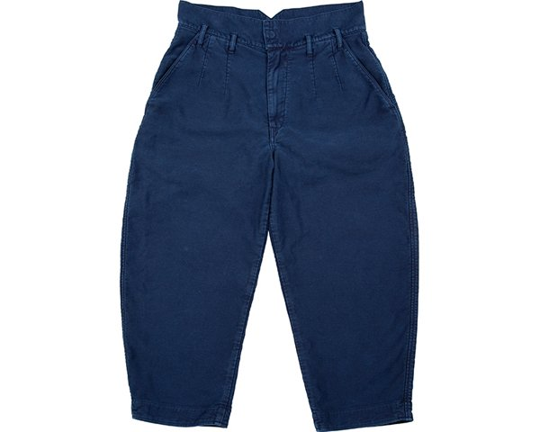<img class='new_mark_img1' src='https://img.shop-pro.jp/img/new/icons50.gif' style='border:none;display:inline;margin:0px;padding:0px;width:auto;' />[PORTER CLASSIC]MOLESKIN CLASSIC PANTS 2019 -NAVY-