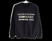 [COW BOOKS] Book Vendor Sweatshirt