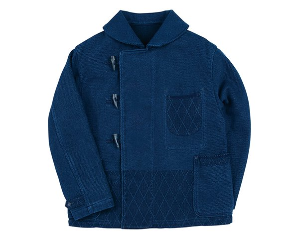 <img class='new_mark_img1' src='https://img.shop-pro.jp/img/new/icons50.gif' style='border:none;display:inline;margin:0px;padding:0px;width:auto;' />[PORTER CLASSIC] PC KENDO DUFFLE JACKET -BLUE-