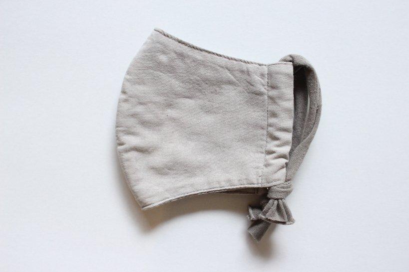 〇限定橡鼠色〇特岡晒マスク(ポケット付晒四重タイプ)/clumsy