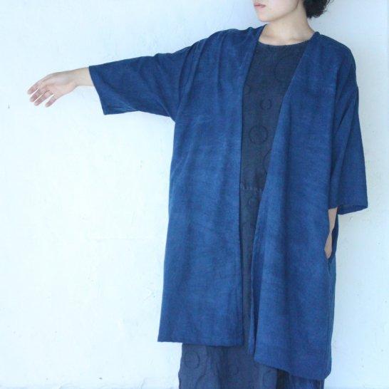 木綿羽織《群青色 》