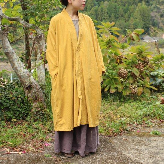 コーデュロイの羽織コート《4カラー》