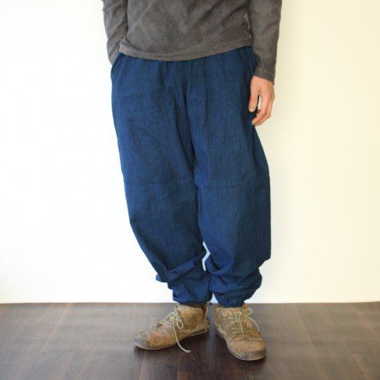 木綿のもんぺパンツ《群青色》