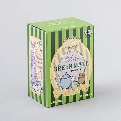 プレミアム オーガニックグリーンマテ茶 ピュアパウダー