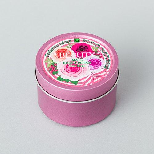 マテフロール ビューティー ティーバッグS缶 【ローズ】
