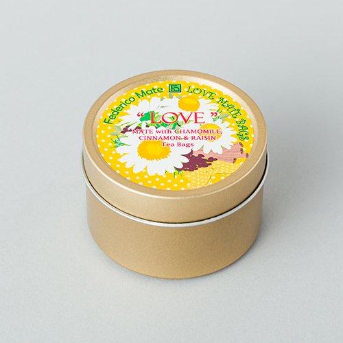マテフロール ラブ ティーバッグS缶 【カモミール】