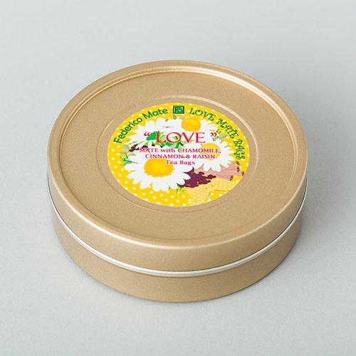 マテフロール ラブ ティーバッグL缶 【カモミール】