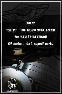"☆silver☆""twist"" idle adjustment screw 販売終了"