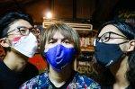 鶴ちゃんマスク