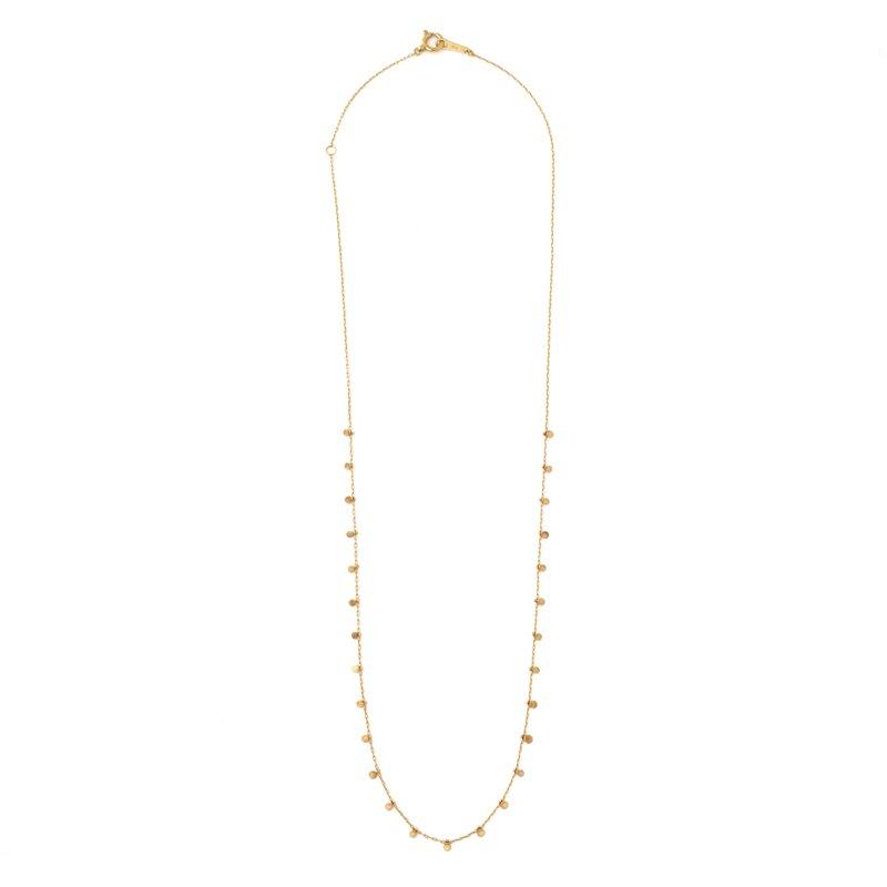Lilypad Necklace K18