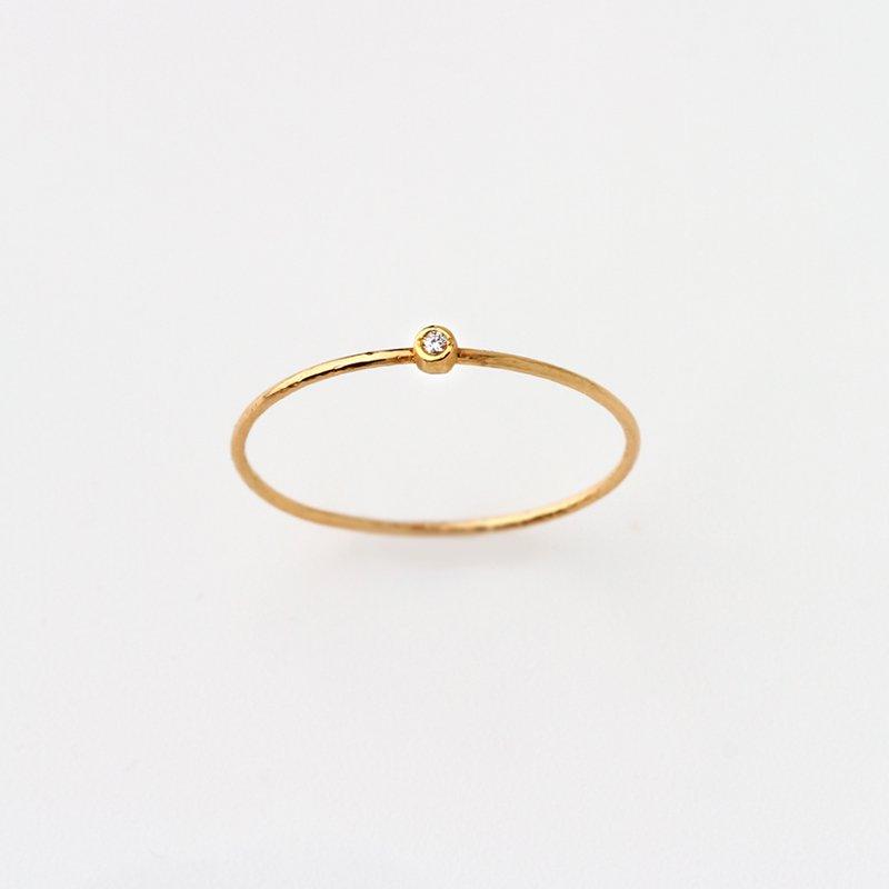Twiggy Diamond Ring K18