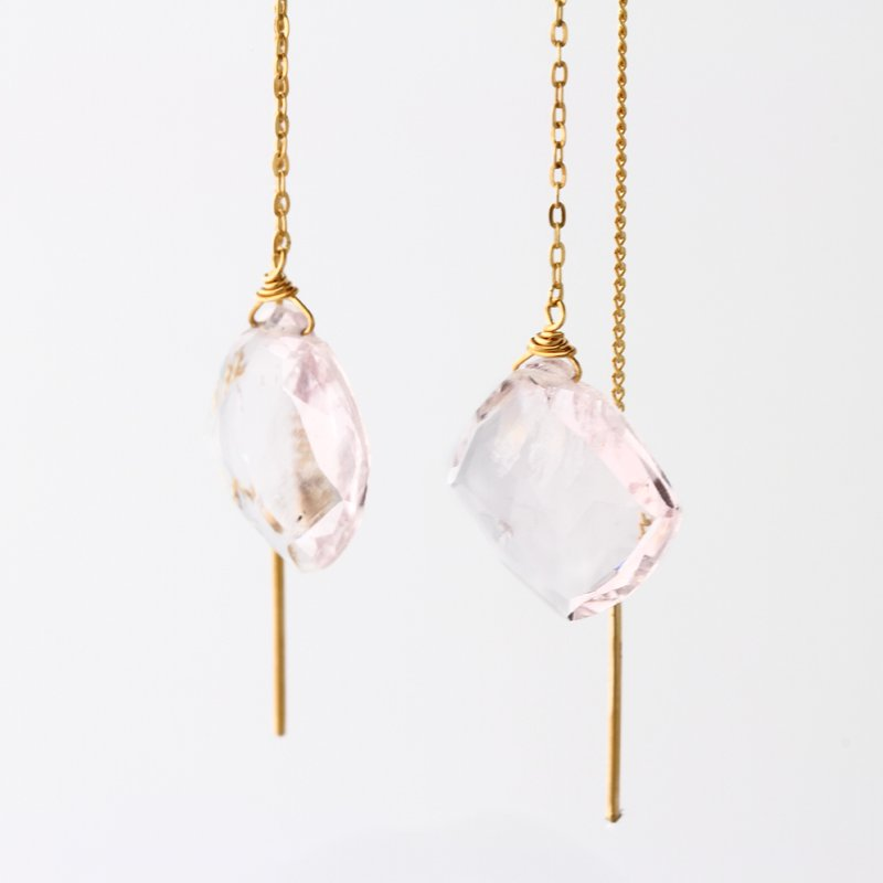 Morganite Pierce K18