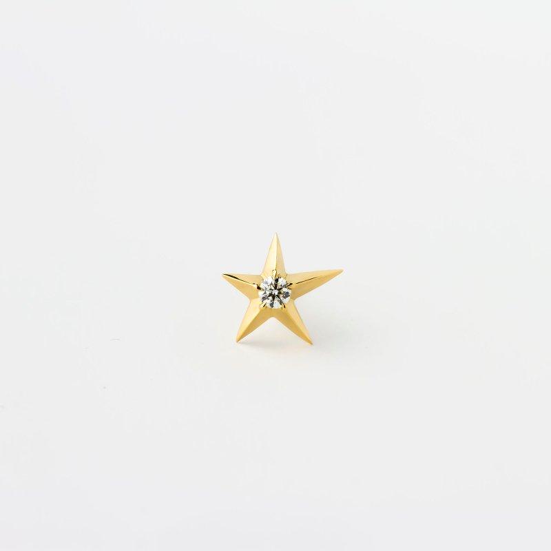 Star light Diamond Pierce K18