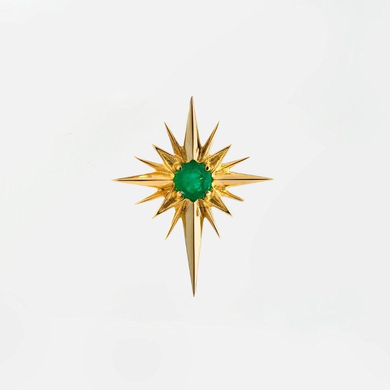 Light Emerald Pierce K18