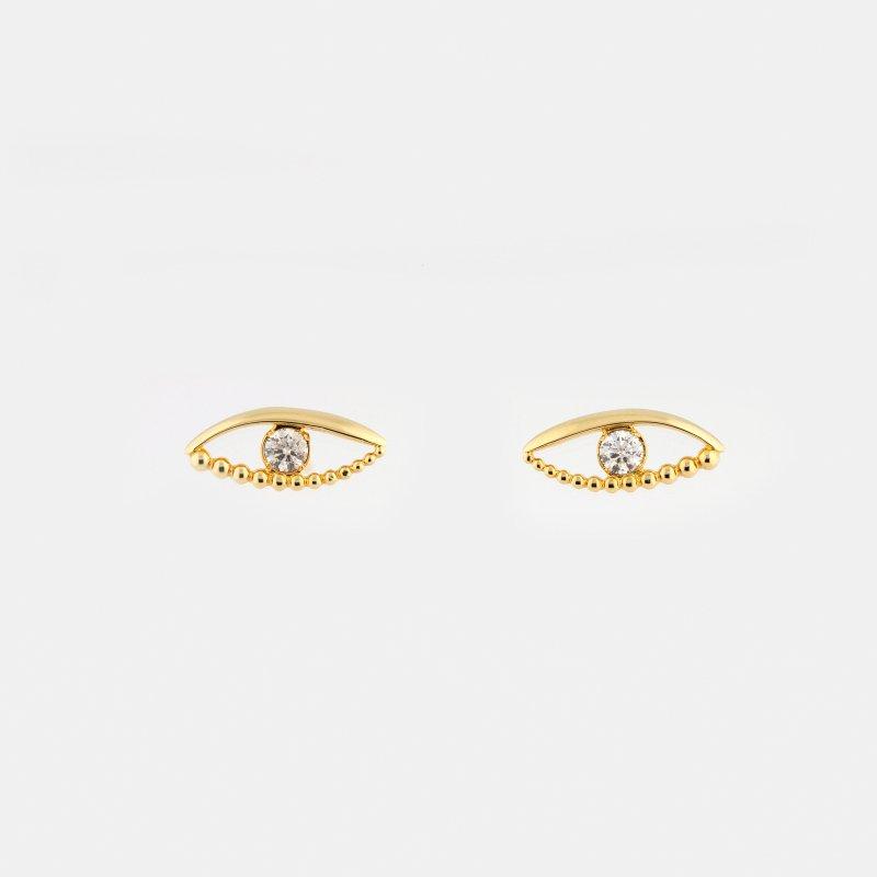 Phoenix Eye Diamond Pierce K18