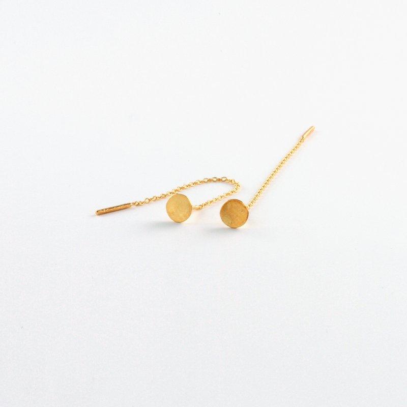 Lilypad Pierce L K18  Chain 4cm