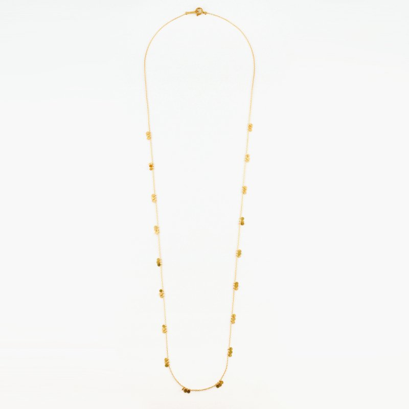 <img class='new_mark_img1' src='https://img.shop-pro.jp/img/new/icons8.gif' style='border:none;display:inline;margin:0px;padding:0px;width:auto;' />Lilypad Necklace K18 t5