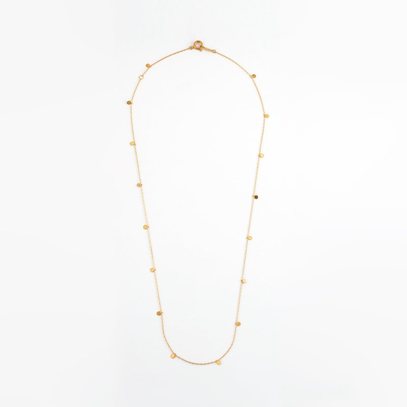 <img class='new_mark_img1' src='https://img.shop-pro.jp/img/new/icons8.gif' style='border:none;display:inline;margin:0px;padding:0px;width:auto;' />Lilypad Necklace K18