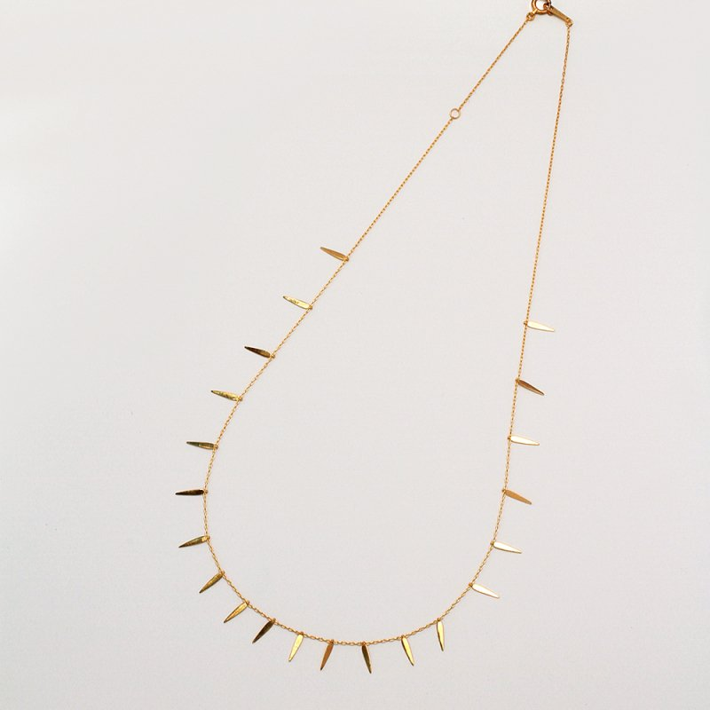 Algues Necklace K18<img class='new_mark_img2' src='https://img.shop-pro.jp/img/new/icons8.gif' style='border:none;display:inline;margin:0px;padding:0px;width:auto;' />