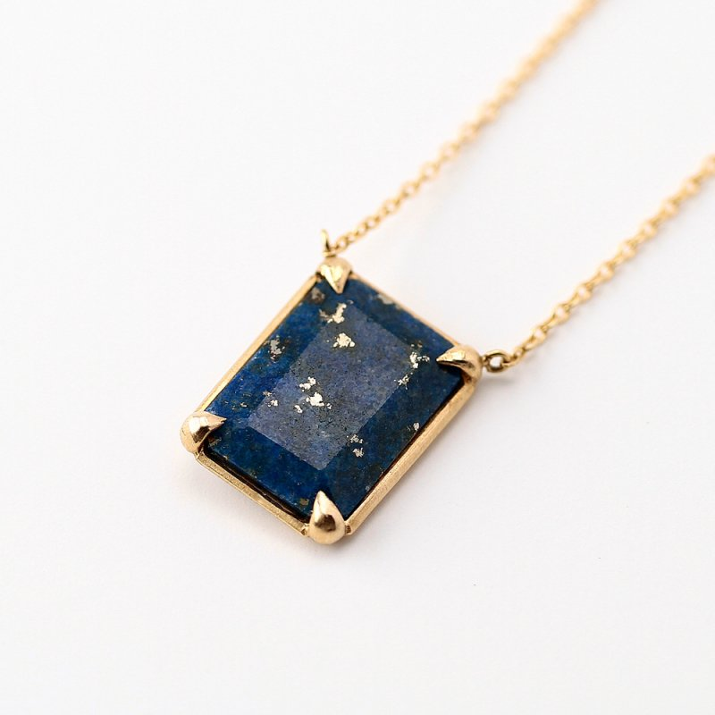 Lapis Lazuli Necklace K18