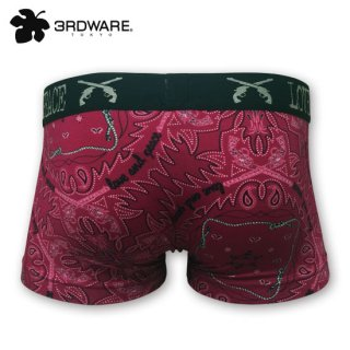 roar×3RDWARE  BANDANA/RED ボクサーパンツ