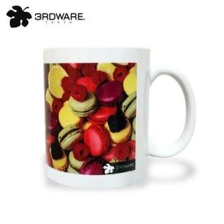 Macaron fruits MUG「マカロンフルーツ柄」3RDWARE マグカップ