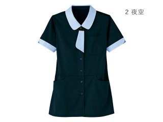 半袖ロングニットシャツ 女性用