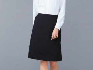 Stretch Kint Aラインスカート 女性用