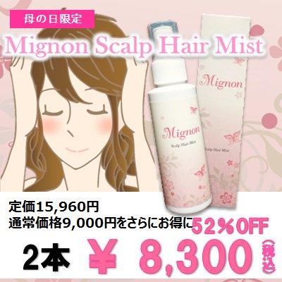 Mignon 期間限定 【母の日キャンペーン】 2本
