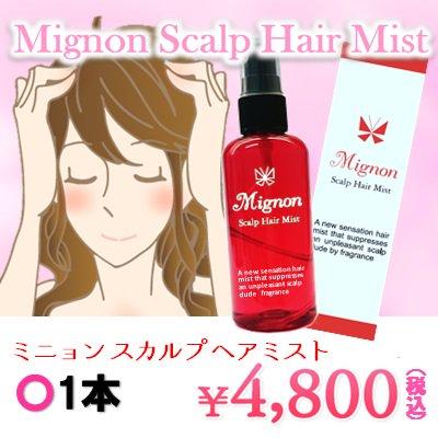 【その都度プラン】Mignon~ミニョン スカルプ ヘアミスト~1本
