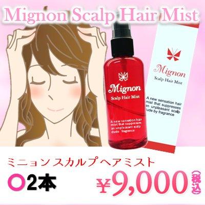Mignon~ミニョン スカルプ ヘアミスト~2本