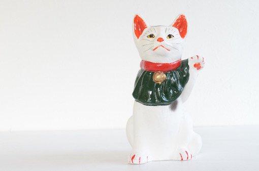 長浜人形 招き猫