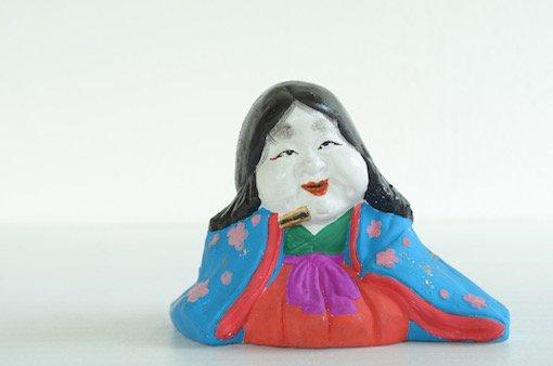 長浜人形 お多福