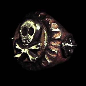 メキシカンリング(スカル2)の画像
