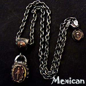 メキシカンペンダントチェーン 40〜50cm3