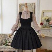 抽選販売・ブラックジャガードドレス