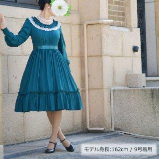 ロマンティックペタルドレス_ミディアム丈 7-13号(設定身長158cm)