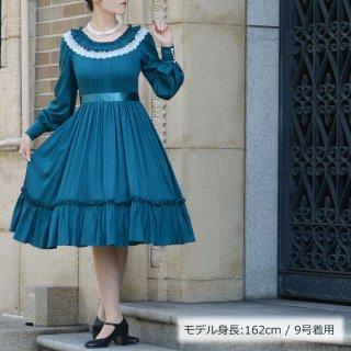 ロマンティックペタルドレス_ミディアム丈  Petit5号-Petit11号(基準身長153cm/身長の低い方向け)