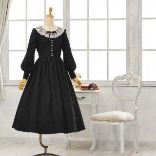 黒猫のドレス_ロング丈 7-13号(設定身長158cm)