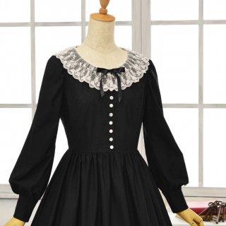 黒猫のドレス_ロング丈 Petit5-11号(設定身長153cm/身長の低い方向け)