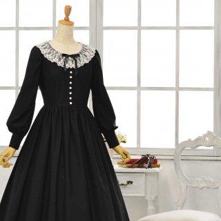 黒猫のドレス_ロング丈 Tall9-13号(設定身長_168cm/身長の高い方向け)