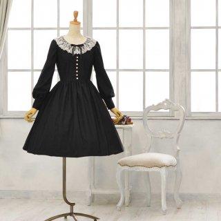 黒猫のドレス_ミディアム丈 Petit5-11号(設定身長153cm/身長の低い方向け)