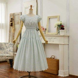 マーガレットレースのアフタヌーンドレス Petitサイズ(想定身長153cm/身長の低い方向け)