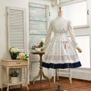 フラワーガーランドのスカート_60cm丈