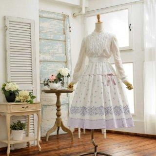 フラワーガーランドのスカート_75cm丈