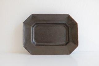 八角長皿(ブロンズ) M