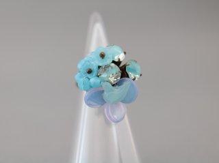 ミサキカナ 青い小鳥のリング